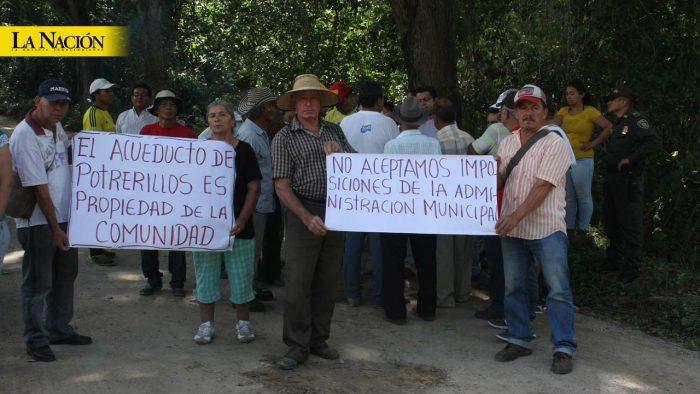 Guerra por el agua sigue viva en Potrerillos 1 7 abril, 2020