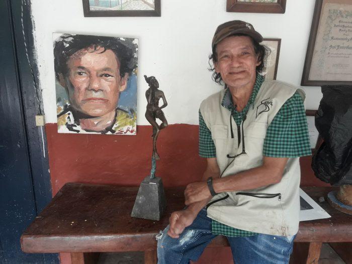 Antes de morir quiero hacerle una escultura a Juan Manuel Santos: Emiro Garzón 1 10 abril, 2020