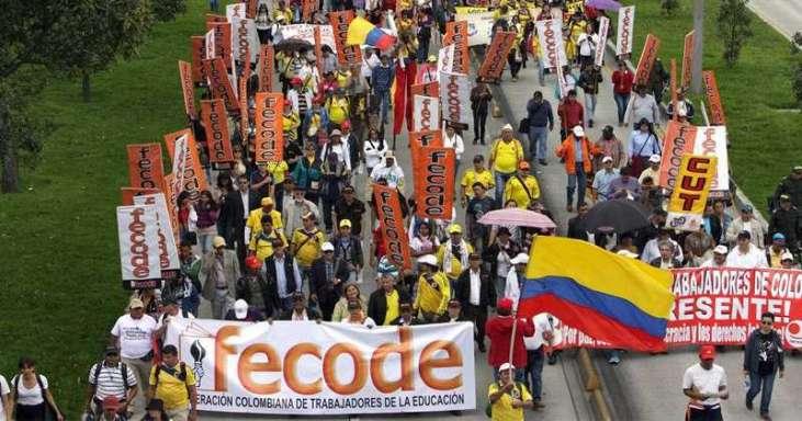 """""""Convocaremos este paro por la vida, la paz y la democracia"""" 1 10 abril, 2020"""