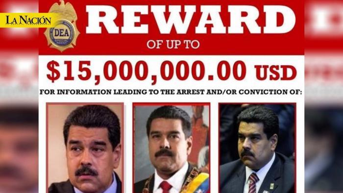 Estados Unidos ofrece US$15 millones de recompensa por Nicolás Maduro 1 30 marzo, 2020