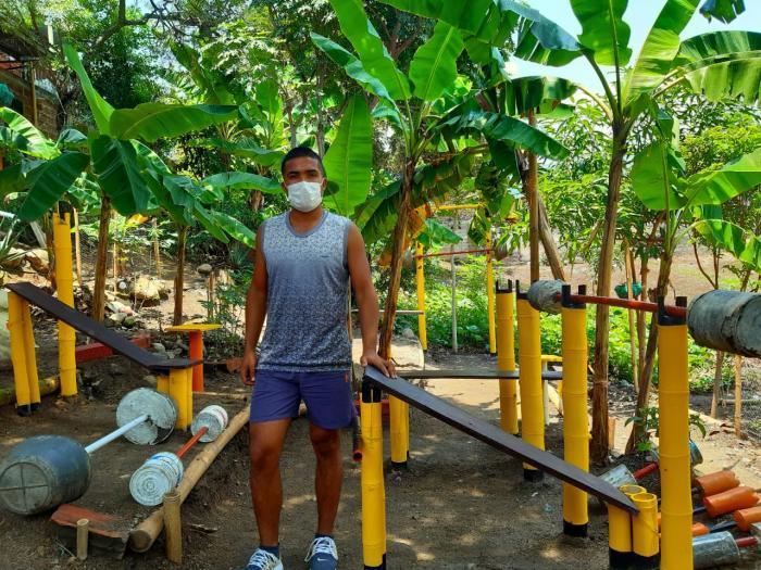 El gimnasio ecológico de Sammy en Campoalegre 1 27 mayo, 2020