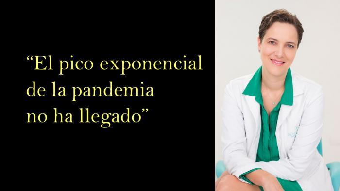 """""""El pico exponencial de la pandemia no ha llegado"""" 1 6 agosto, 2020"""