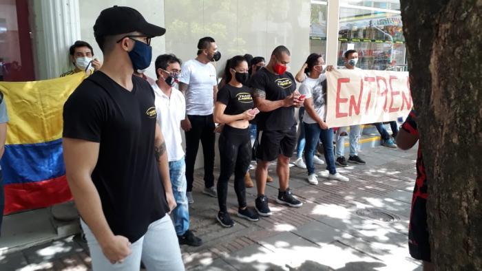 """""""¡El gimnasio es salud y no entretenimiento!"""" 1 9 agosto, 2020"""