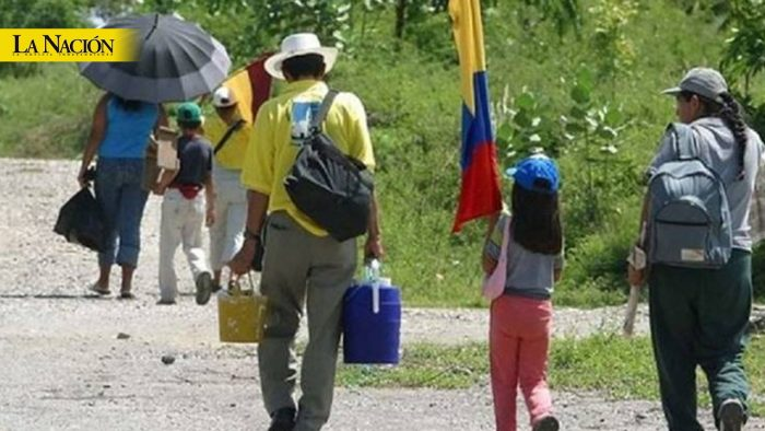 Alarma, 180 desplazados en dos meses 1 12 agosto, 2020