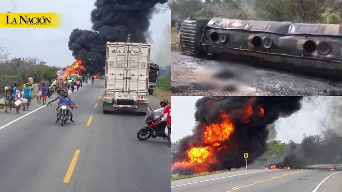Impactantes imágenes: Camión cargado con gasolina explotó cuando era saqueado y deja decenas de víctimas 1 10 agosto, 2020