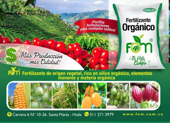 Fertilizante Orgánico Mineral 1 12 agosto, 2020