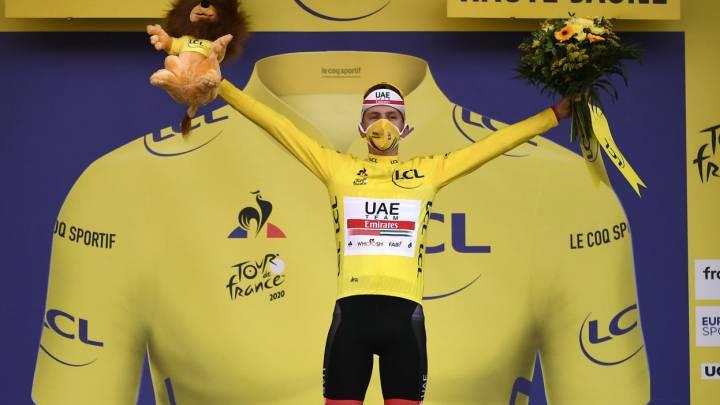 Pogacar es el campeón virtual del Tour • La Nación