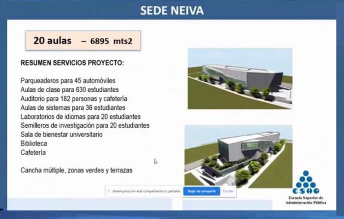 Campus de la Esap en Neiva podrá resucitar 7 25 enero, 2021