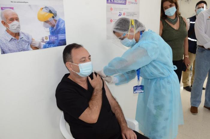 Resultado de imagen para 39.827 Vacunados en Colombia