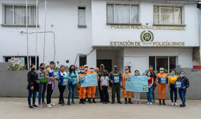 Patrullero de Isnos, nominado a mejor policía de Colombia 8 4 abril, 2021