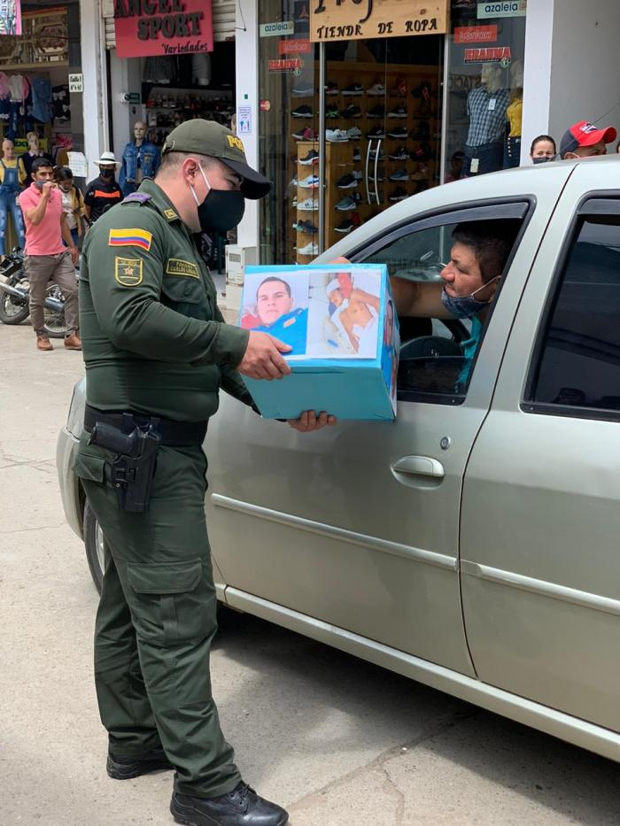 Patrullero de Isnos, nominado a mejor policía de Colombia 7 4 abril, 2021