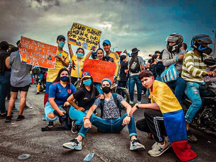 Indignación de trabajadores estalló en las calles 15 2 mayo, 2021