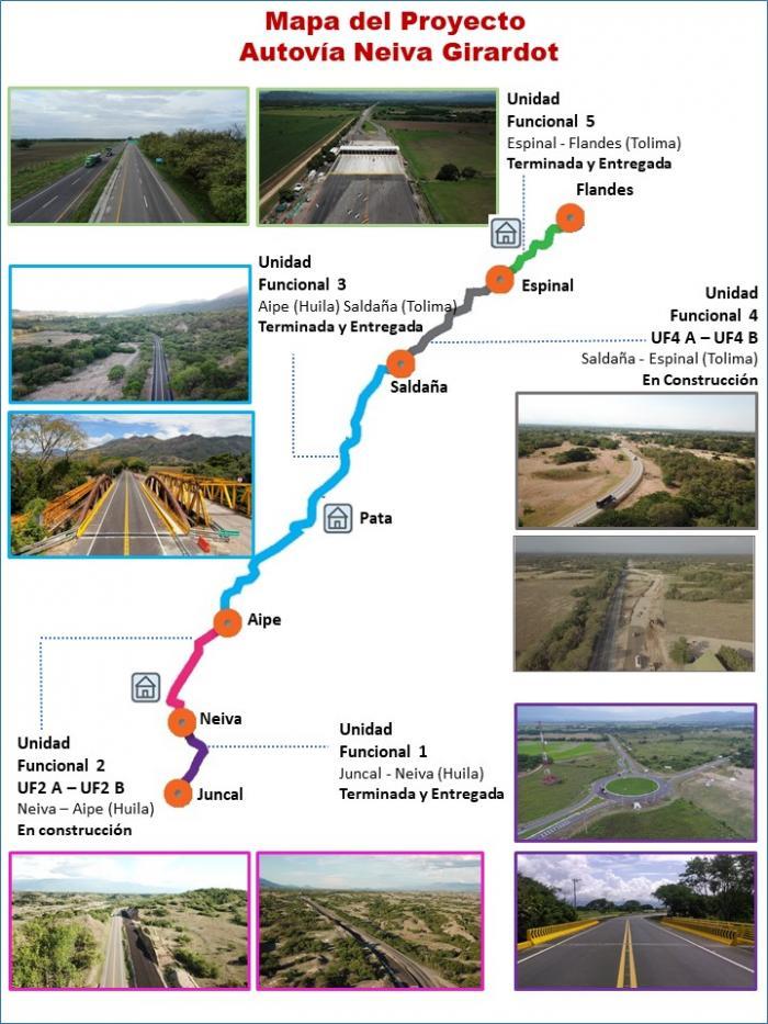 Obras de la doble calzada Neiva-Aipe se encuentran suspendidas 10 9 junio, 2021