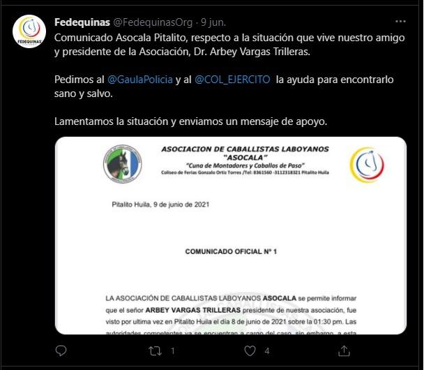 El misterio que ronda la desaparición de caballista laboyano 7 14 junio, 2021
